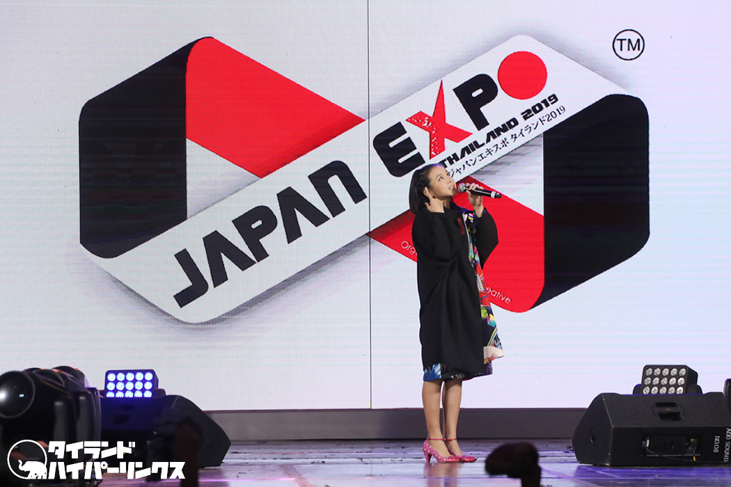 misono、圧倒的歌唱力でアニメソングや洋楽をカバー![JAPAN EXPO THAILAND 2019]