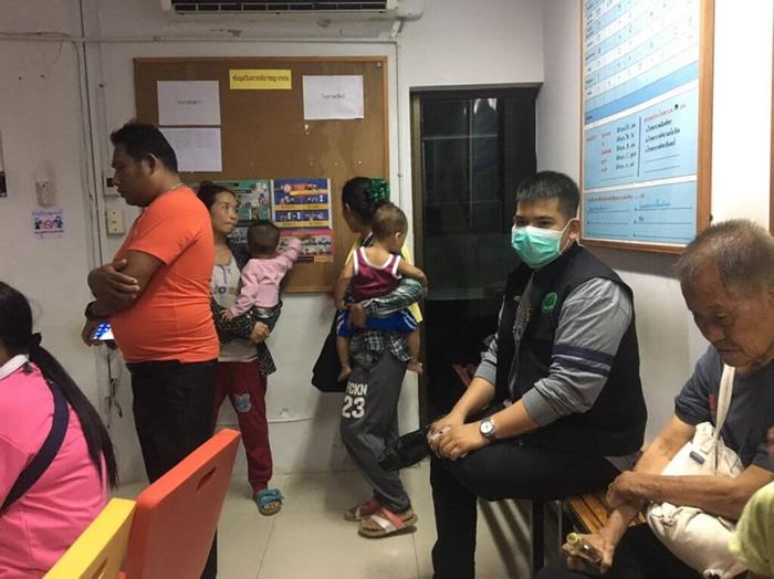 パタヤ 8人の幼児を乞食に利用、6人の移住者を逮捕