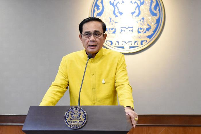 プラユット首相:写真はタイ首相府より