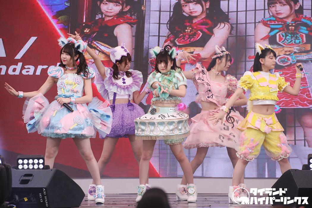 わーすた、3年連続「JAPAN EXPO THAILAND」のステージでライブ披露
