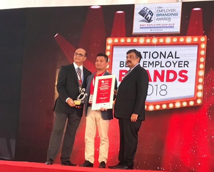 タイベトジェット「Global Best Employer Brand 2019」を獲得