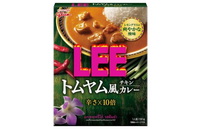 江崎グリコ「トムヤム風チキンカレーLEE」発売