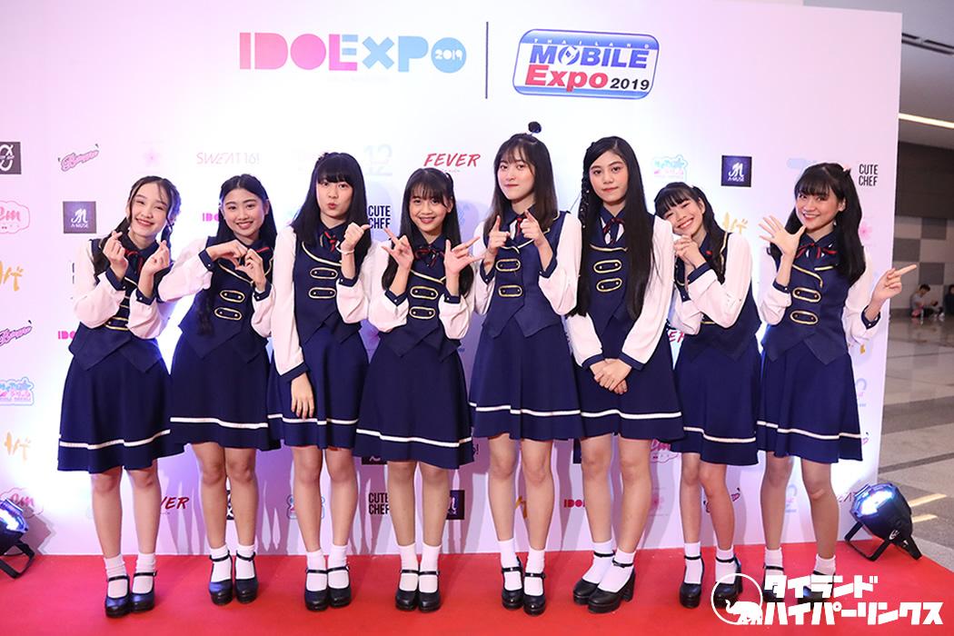 ソメイヨシノ51はチェンマイ発のアイドルグループ!IDOL EXPO 2019で「虹の橋」披露