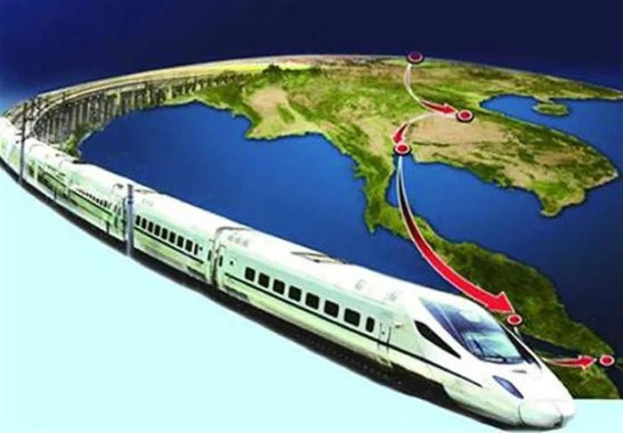 タイと中国の高速鉄道イメージ 画像:タイ政府広報部門より