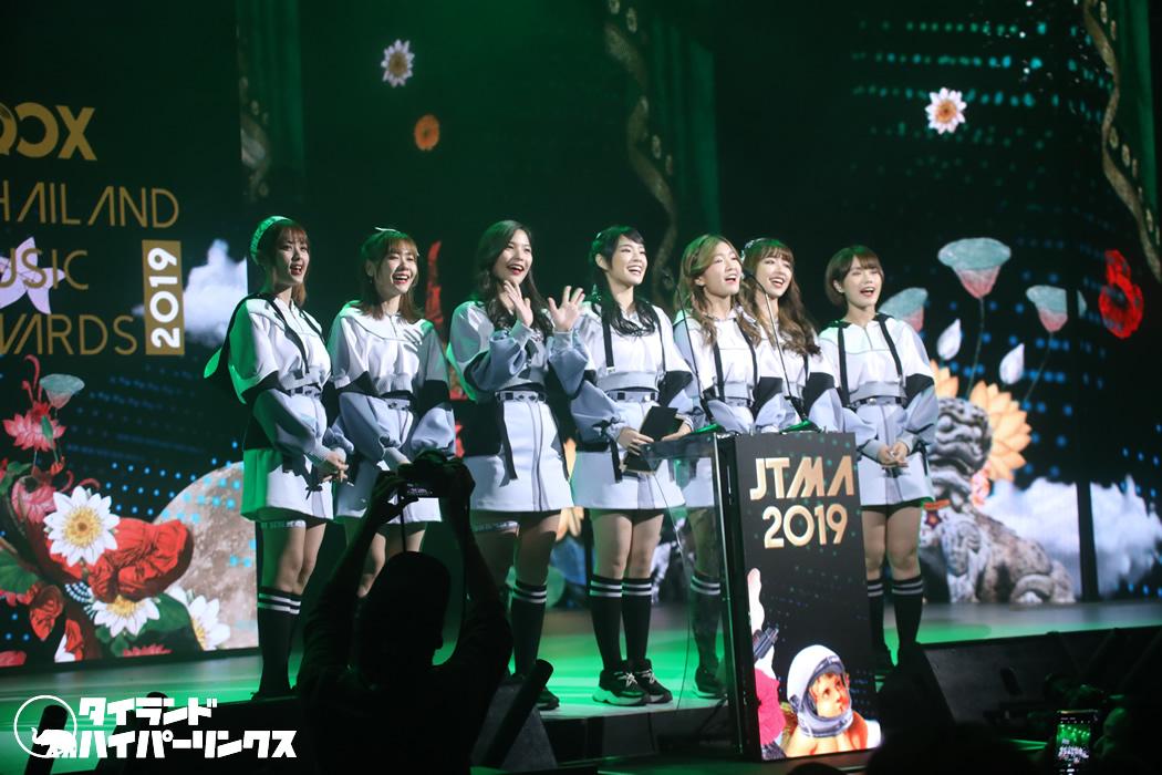 BNK48涙の受賞から1年~神7で凱旋![JOOX Thailand Music Awards 2019]