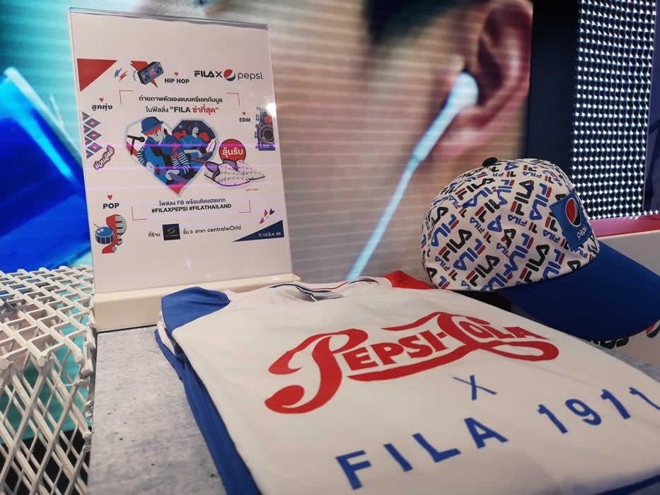 PEPSIとFILAがコラボでスペシャルコレクション発表、10代のファッショニスタを魅了