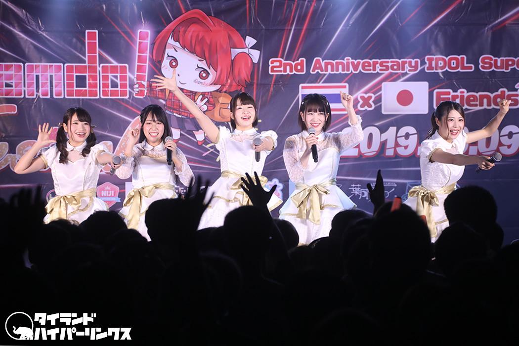 KiREI、グループ結成後初のタイ遠征![Siamdol Festival 2019]