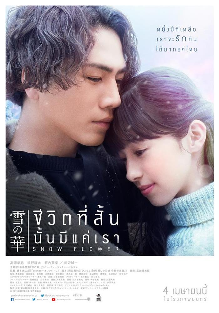 登坂広臣&中条あやみ主演映画「雪の華」、タイで2019年4月4日より劇場公開