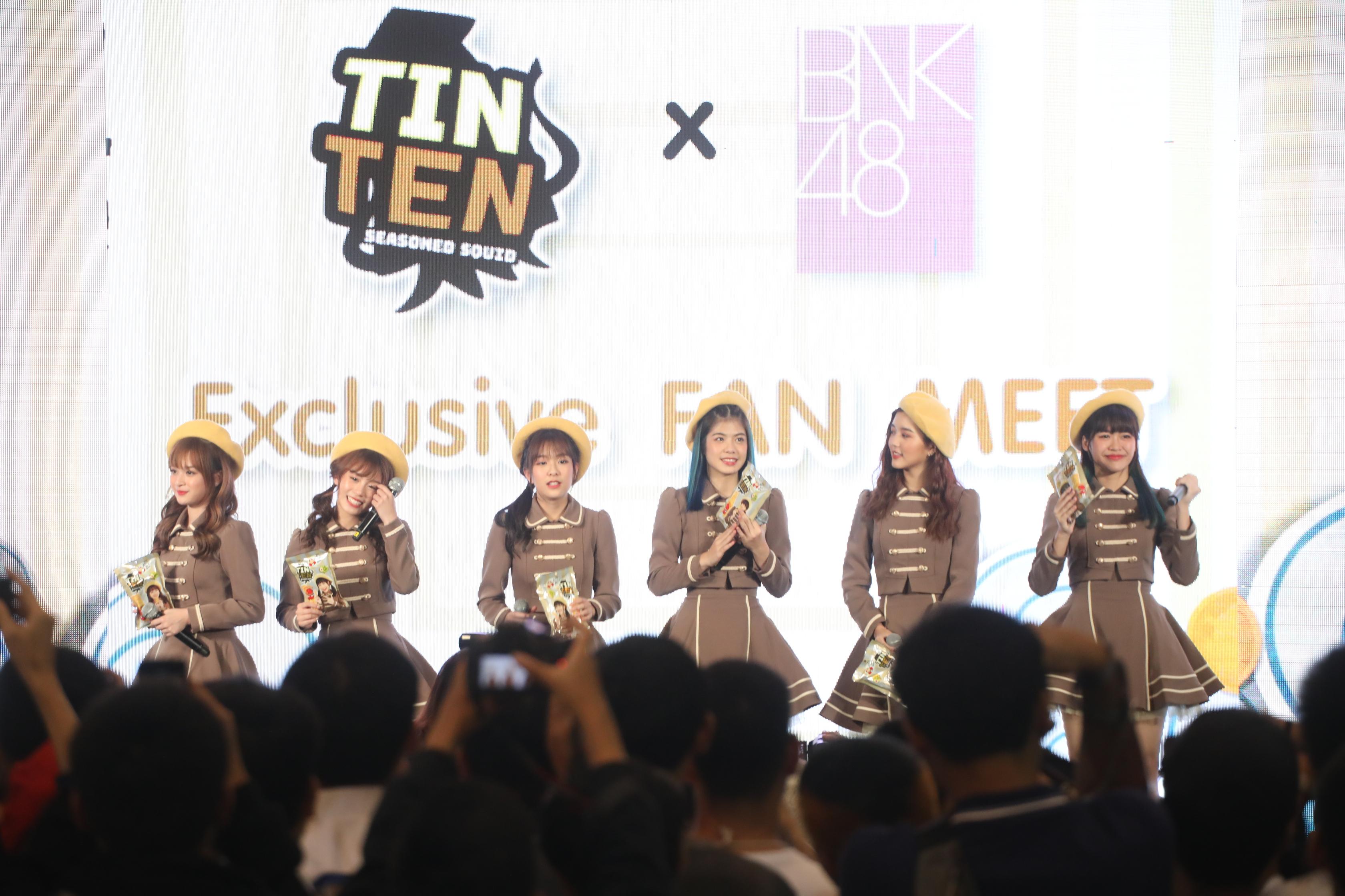 BNK48 2期生が「TinTen」のプレゼンターに、TinTen X BNK48 ファンミ開催