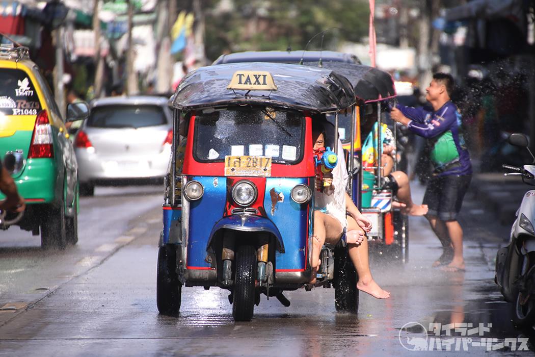タイ文化相「2021年の水掛け祭りは許可される見込み」