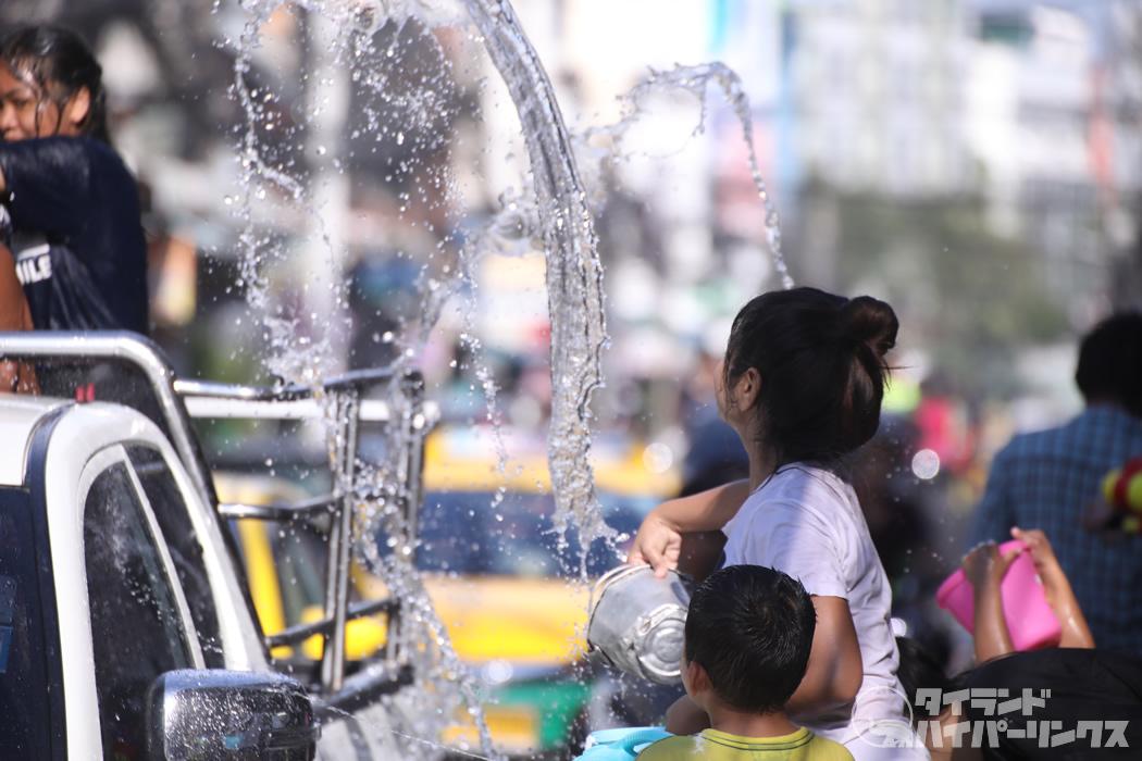 2021年のタイ正月(ソンクラーン)、タイ文化省は開催を支援