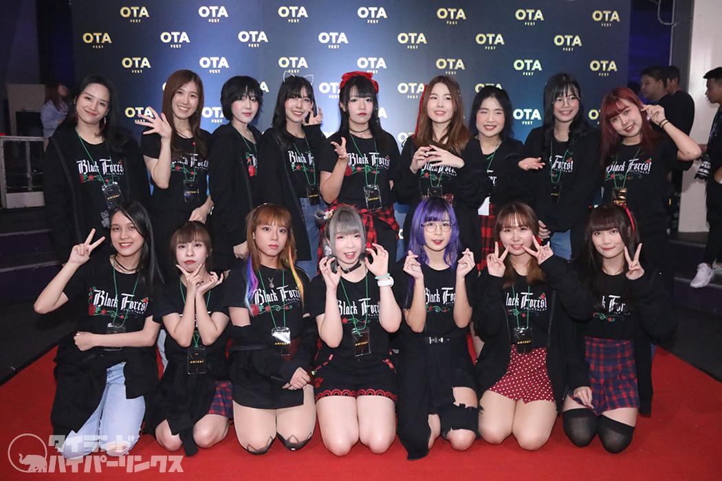 タイの新進アイドルグループ「Black Forest」、突如全メンバーと契約解除