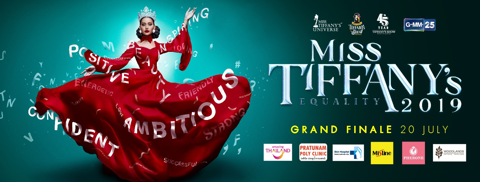 ニューハーフ美女32人がタイでナンバーワンを目指す!「Miss Tiffany's 2019」開催