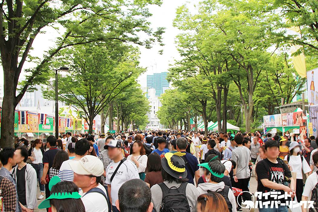 代々木公園の「タイ・フェスティバル2019」の見どころは?