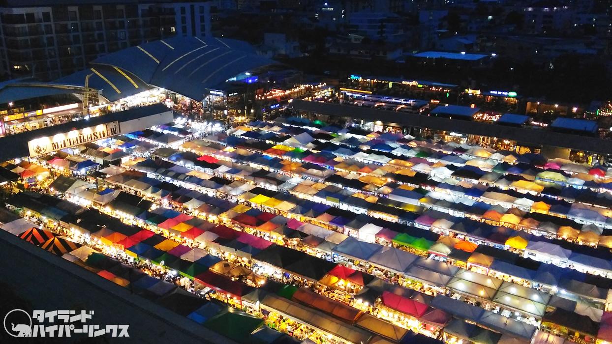 Ratchada Rot Fai Train Night Market ตลาดนัดรถไฟ รัชดา