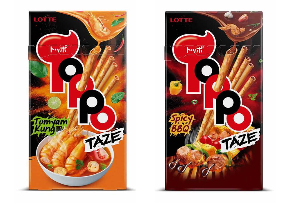 タイ限定「TOPPO TAZE」が正式発売開始!トムヤムクン味とスパイシーBBQ味
