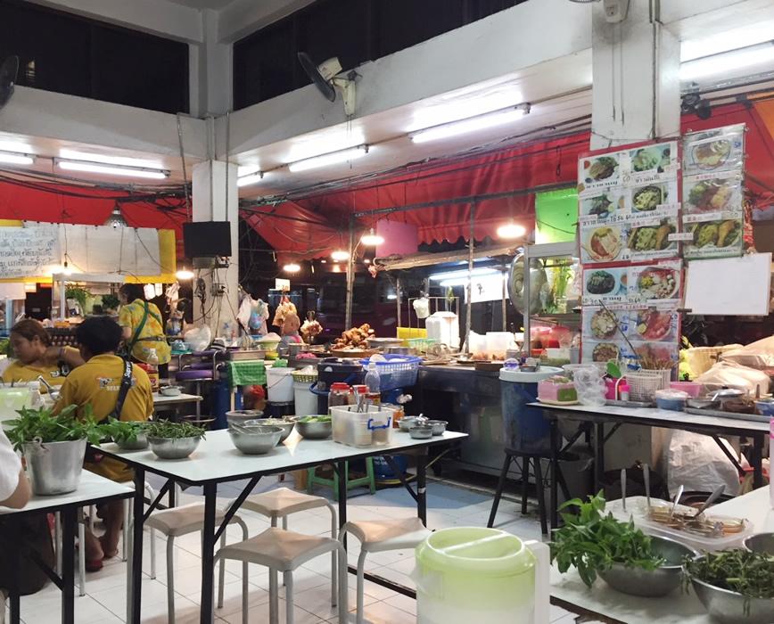バンコクでの食事について