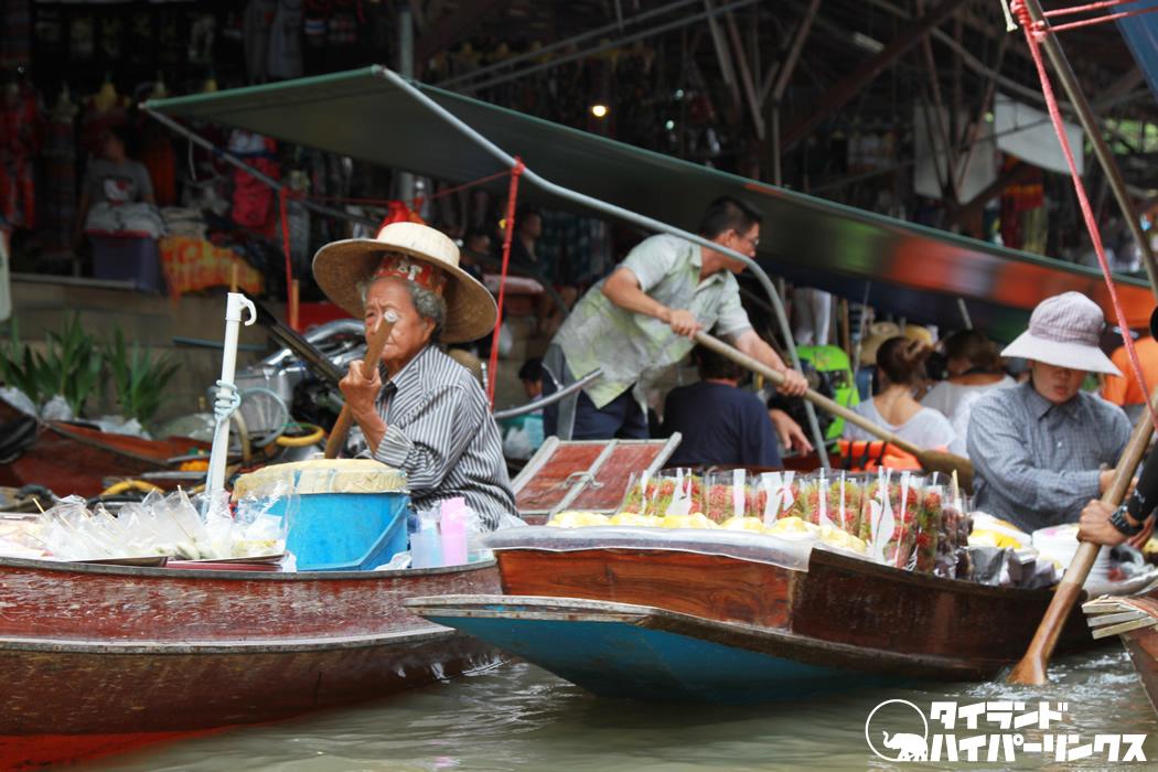アニメ公開!タイの水上マーケットのミッキー&ミニー~最後に出来上がった究極の料理とは?