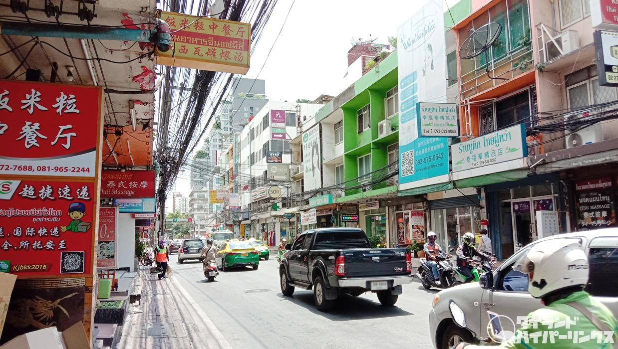 バンコクのミニ中華街に貸店舗多数、10軒以上空いてます!