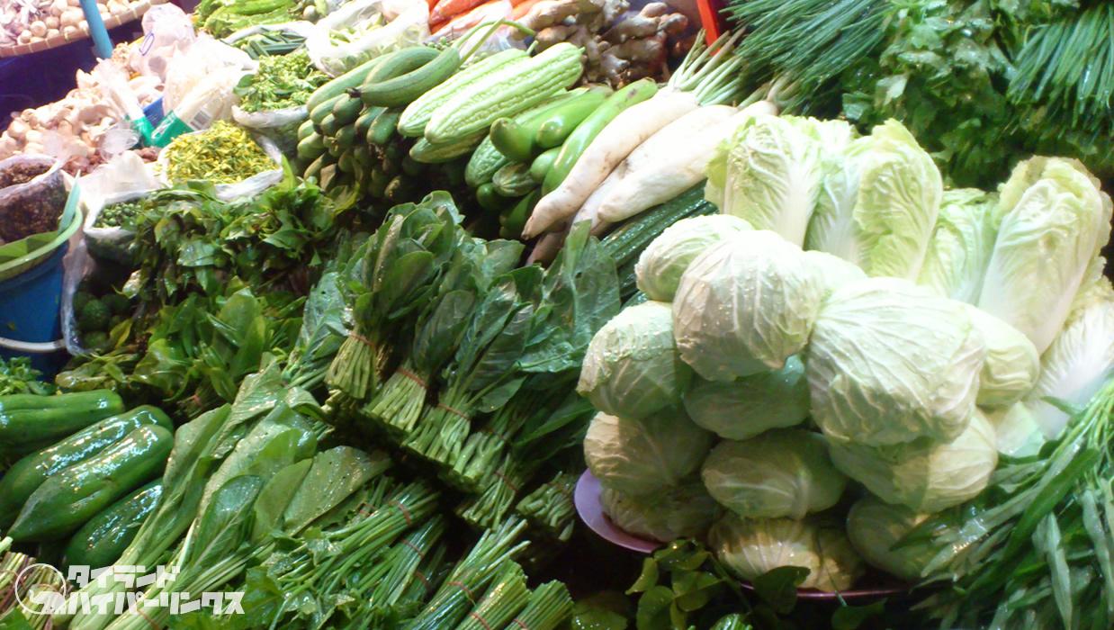 タイ市場の野菜・果物の41%が残留農薬の基準超え