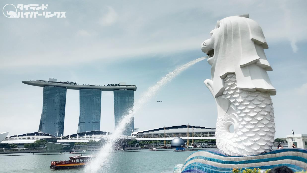 タイ航空TG403便でシンガポールへ!機材はエアバスA350-900型機