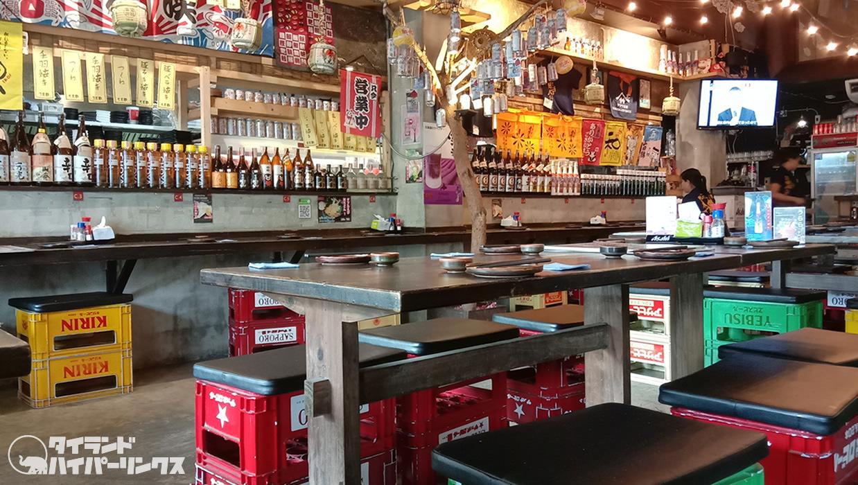 プロムポン「剣心」はバンコクの人気ナンバーワン居酒屋?