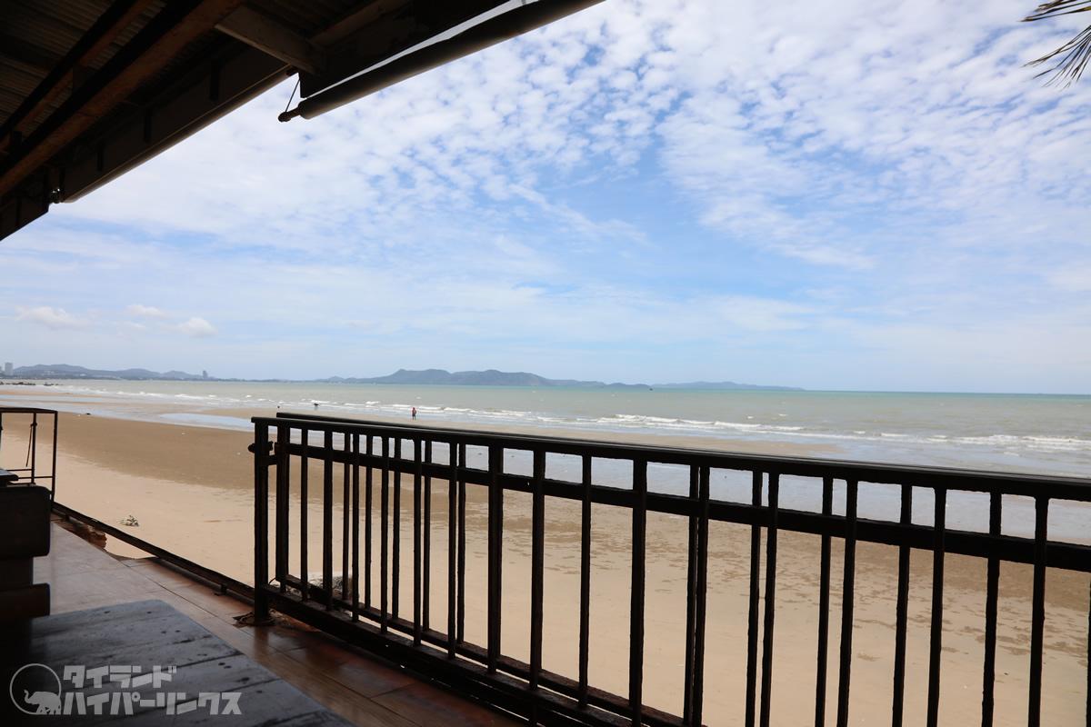 ルンサワイ・シーフード(Lungsawai Seafood)からの眺め