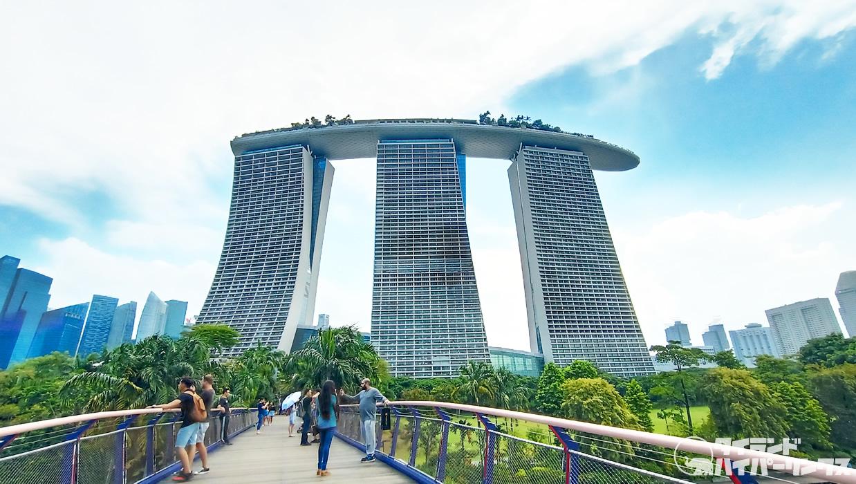 シンガポール「マリーナベイ サンズ」、インフィニティプールはやっぱり最高だった!