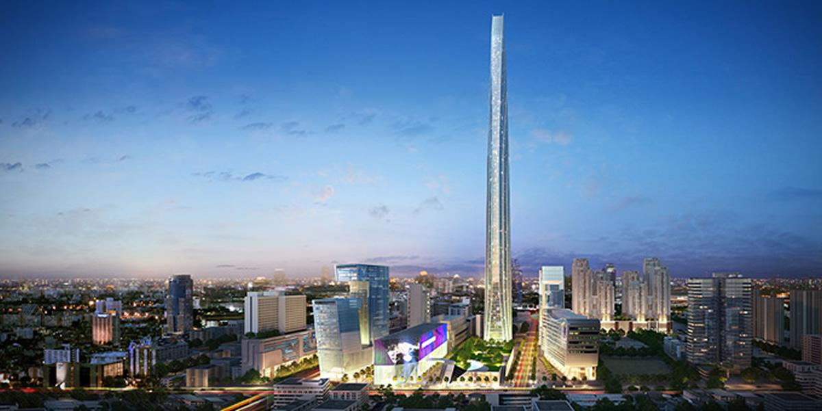 2020年完成予定の615メートルの超高層ビル「ザ・スーパータワー」はどうなった?