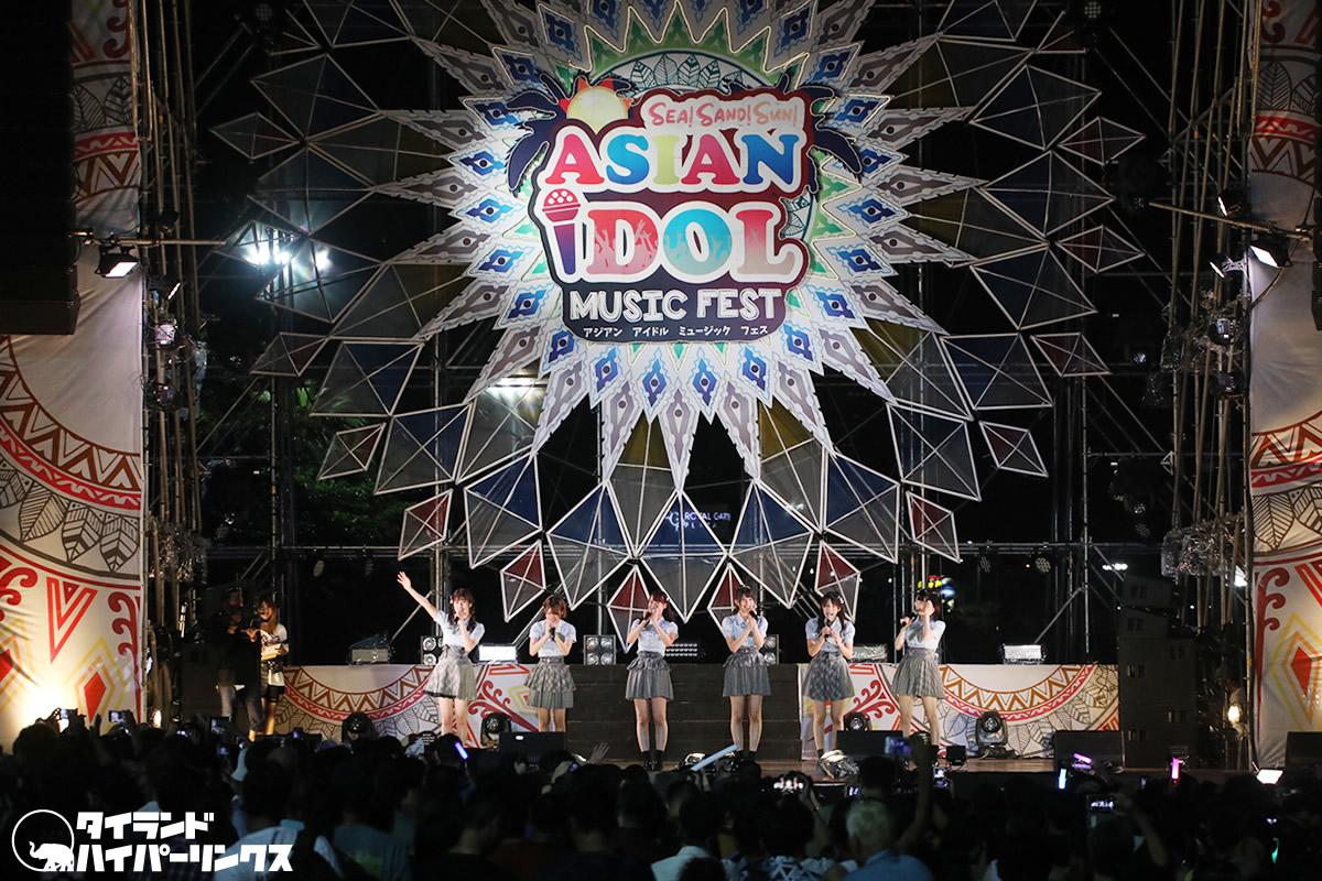 AKB48チーム8がタイ・パタヤビーチのアイドルフェスに登場![ASIAN IDOL MUSIC FEST 2019]