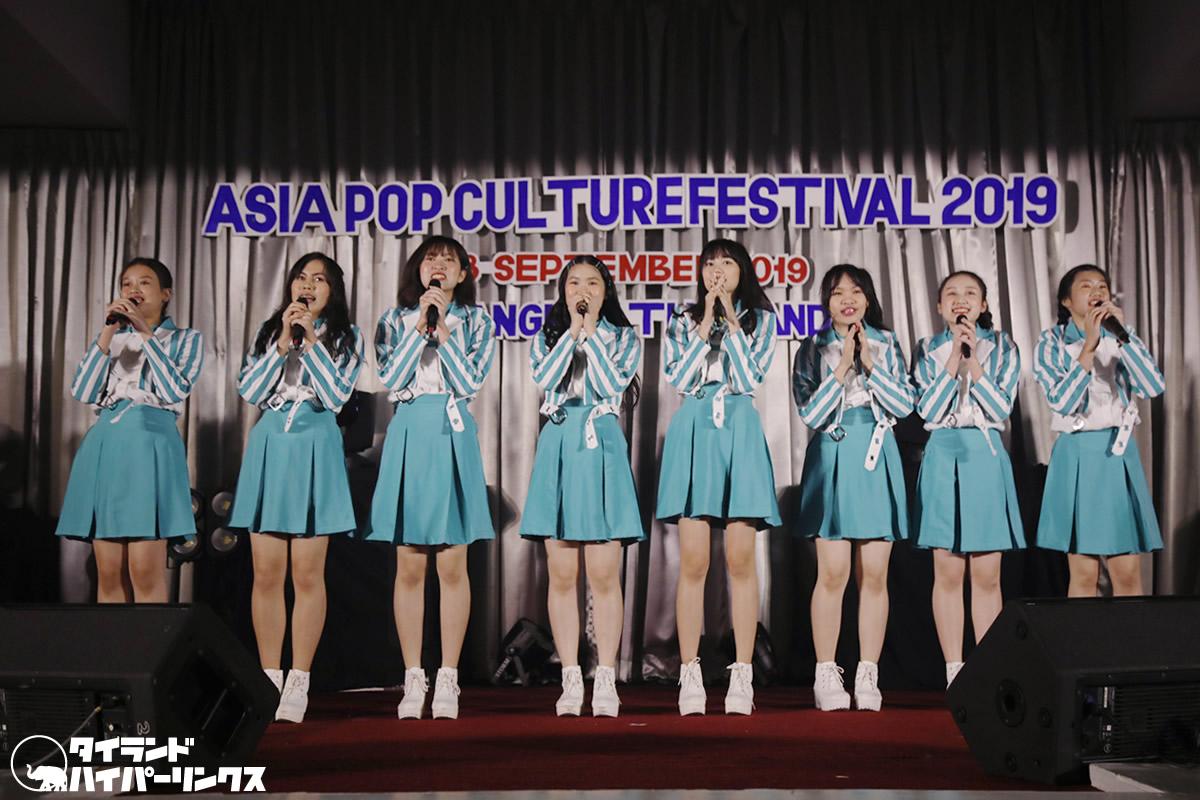 チェンマイ発アイドル・SY51、「Asia Pop Culture Festival 2019」の大トリを飾る
