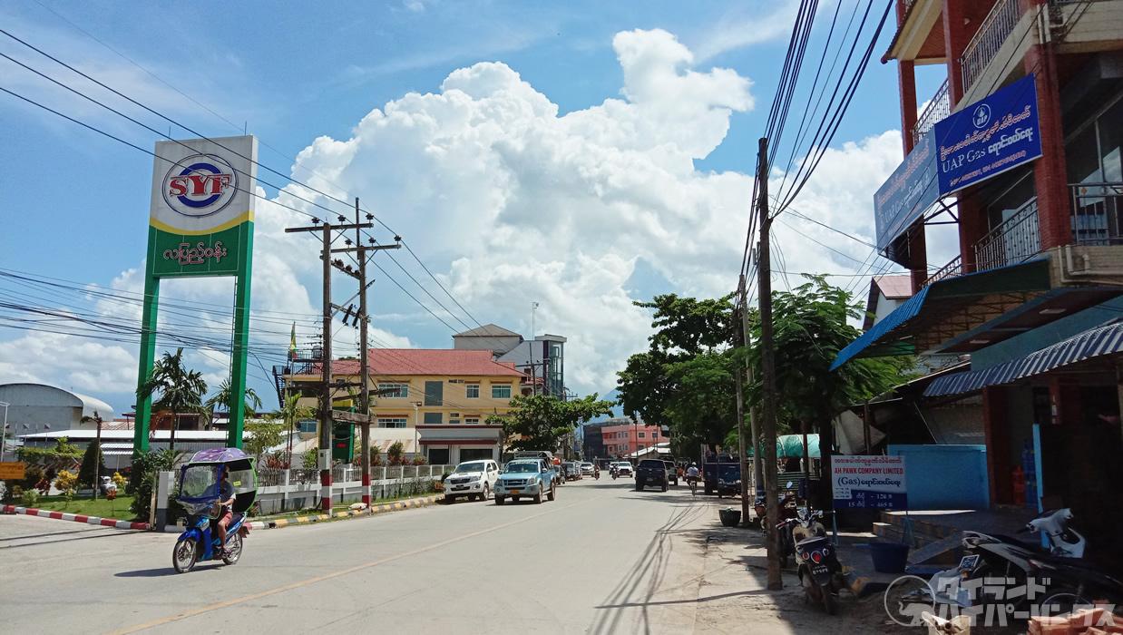 ミャンマー・タチレクの風景