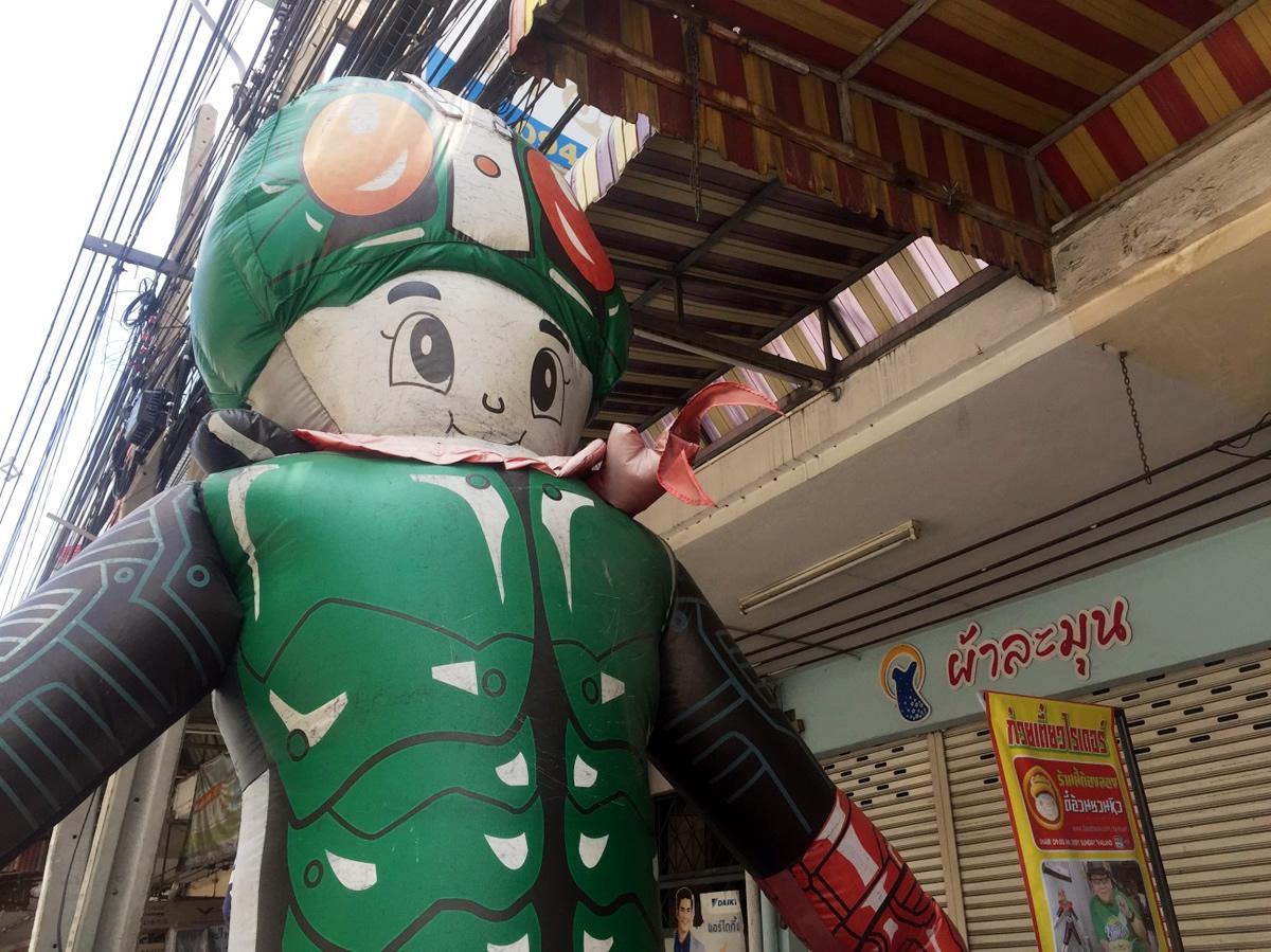 """仮面ライダーが作る""""タイラーメン""""のお店"""