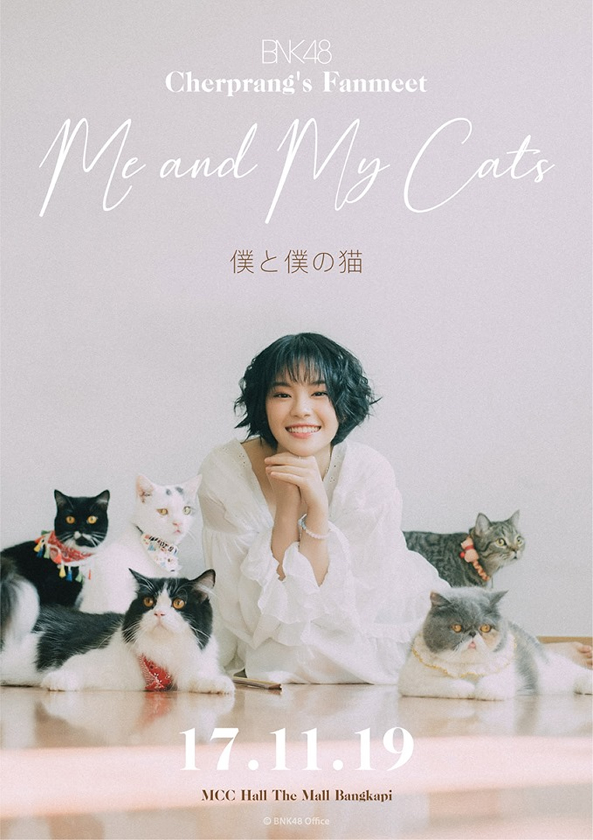 チャープランBNK48のファンミ「僕と僕の猫」が2019年11月17日開催