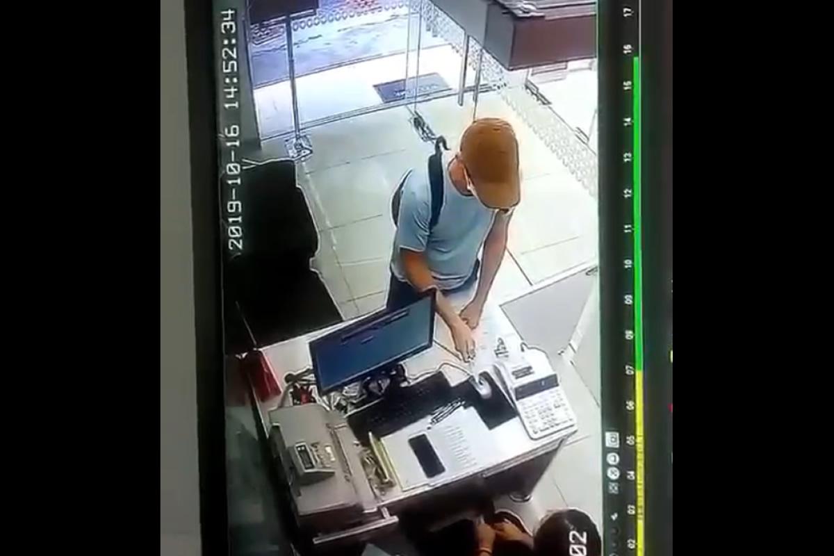 バンコク・プロムポンで両替所強盗、逃走中の犯人は白人の男か