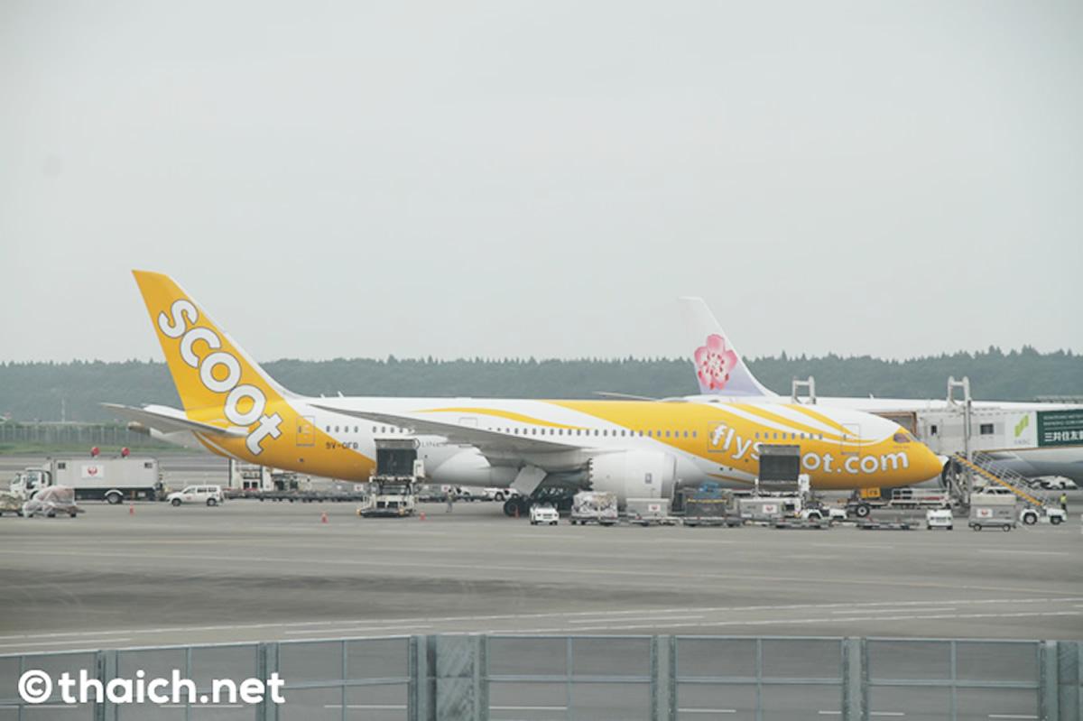 スクート、バンコク=東京路線は2020年4月6日まで運休