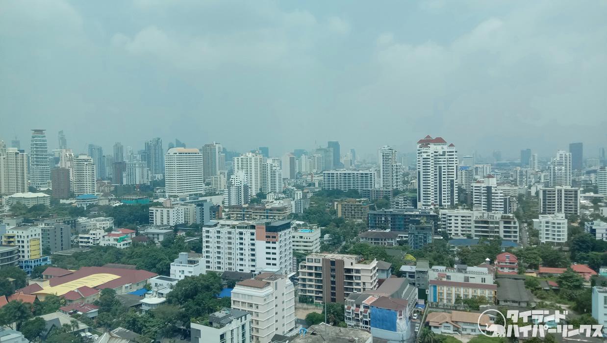 バンコクの大気汚染、当局が注意を呼びかけ
