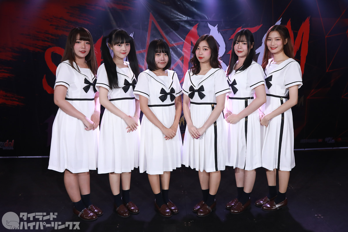 AMERYU:日本式の6人組アイドルグループがデビュー!3曲熱唱