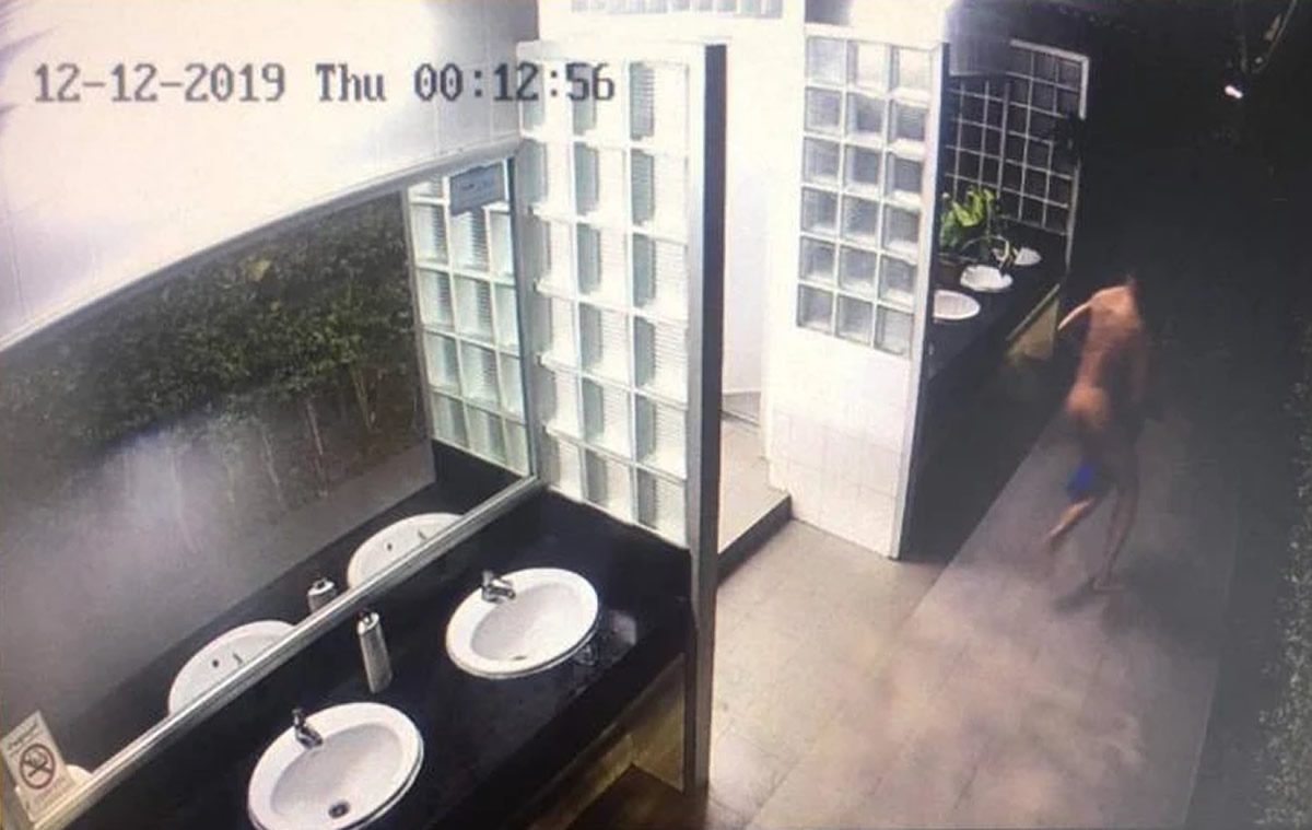 17歳少年が女子トイレから全裸で逃走、わいせつ目的で逮捕