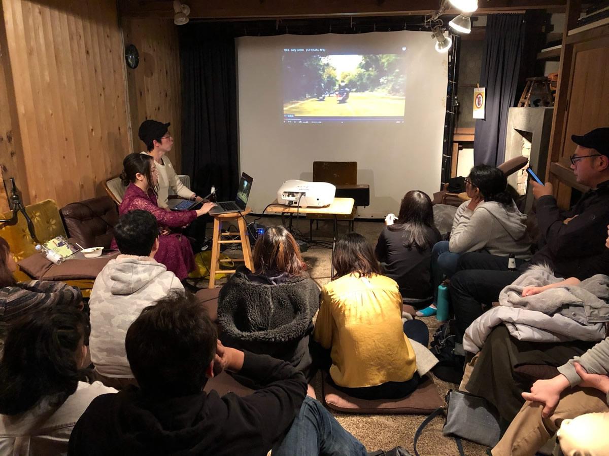 2018年3月の東京での会の様子