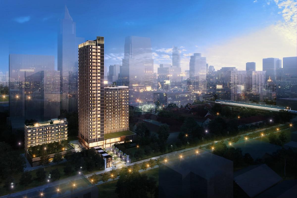 新ホテル「シンドーン・ミッドタウン」が 2020年春にバンコク・ランスアン通りにオープン