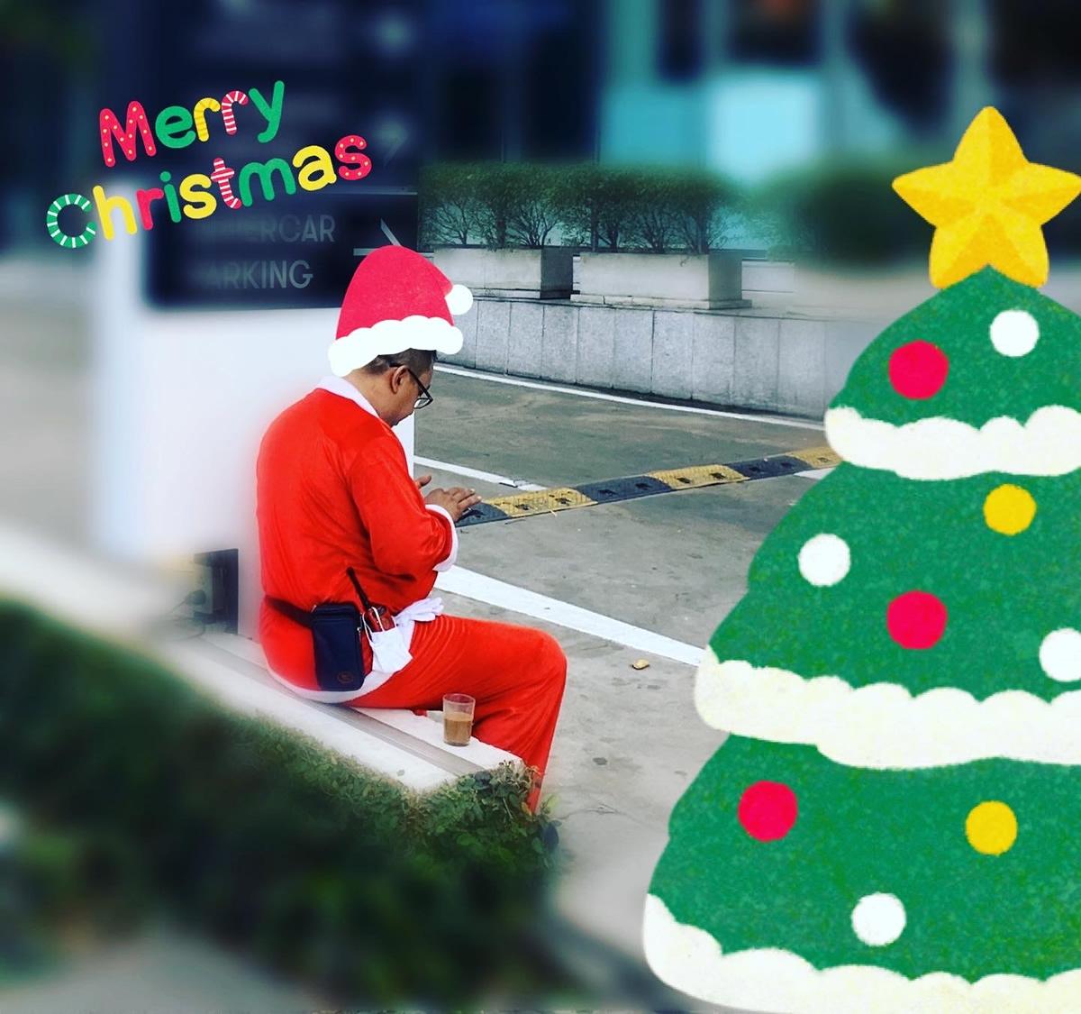 2019年 バンコク真夏のクリスマス