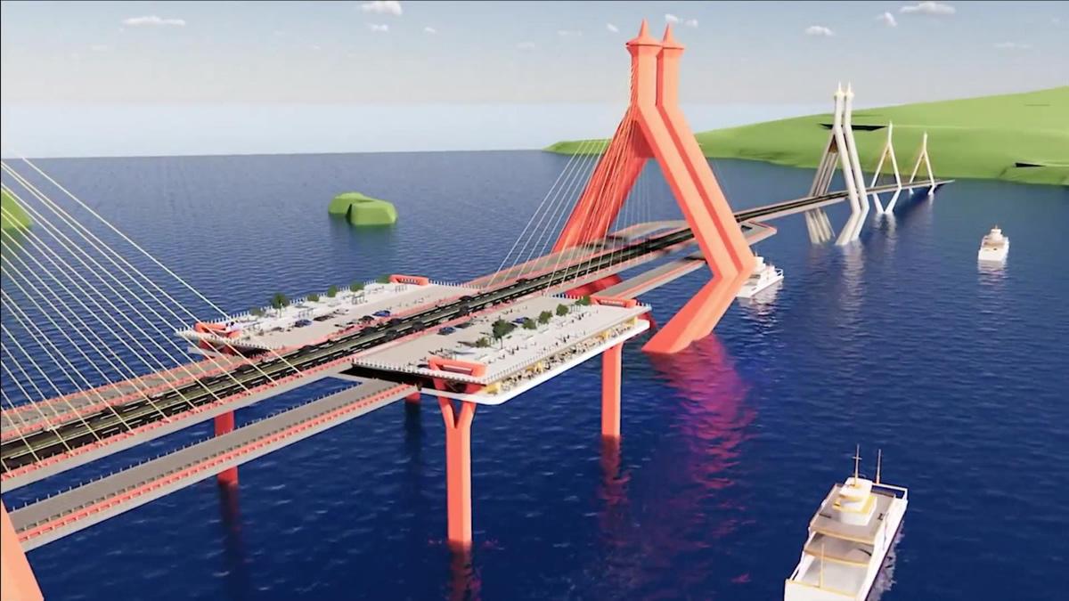 サムイ島と本土を結ぶ橋の建設を要望~全長は約18キロ、建設費用は推定300億バーツ