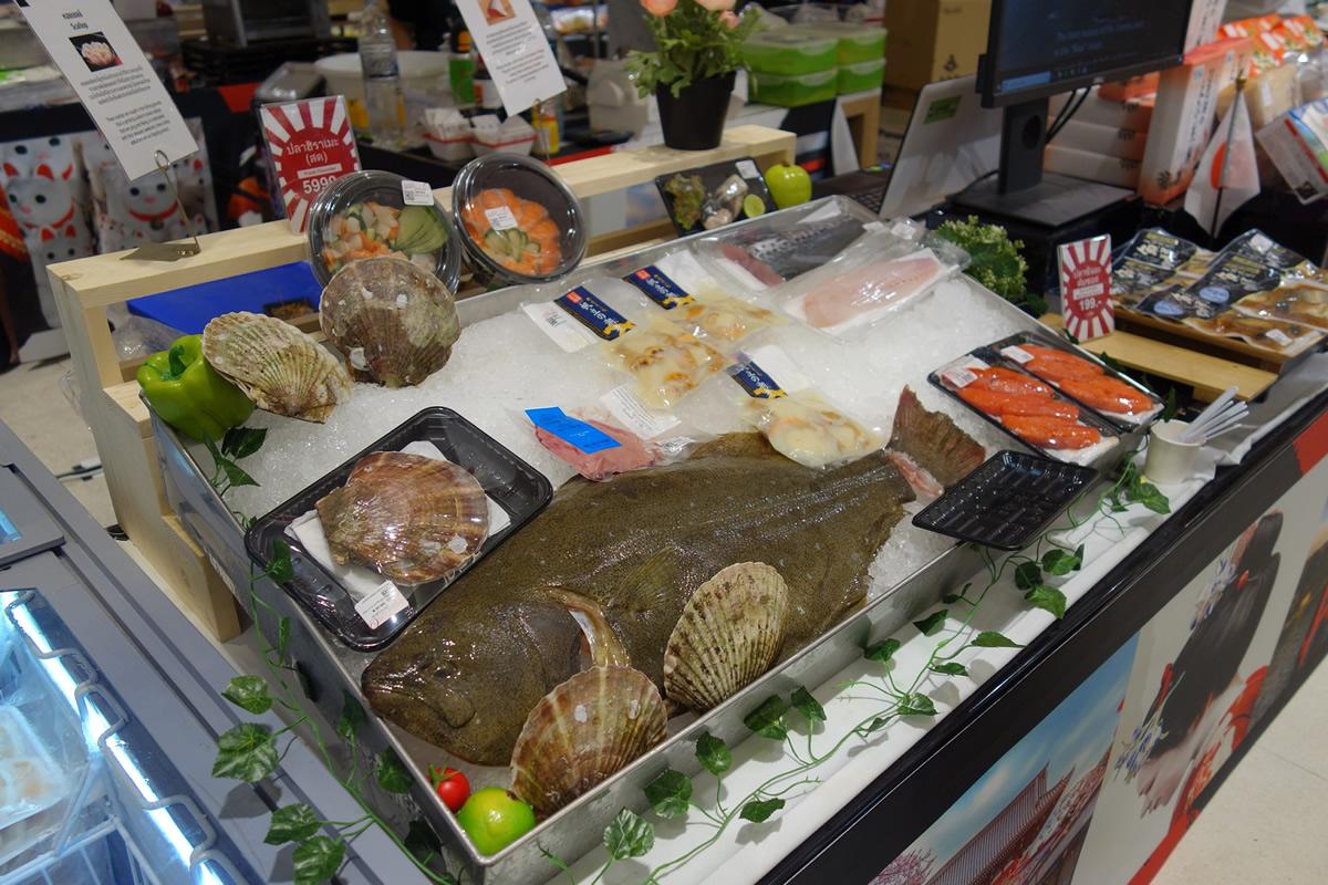 東日本大震災後はじめて!福島県・相馬沖産の鮮魚がタイで販売