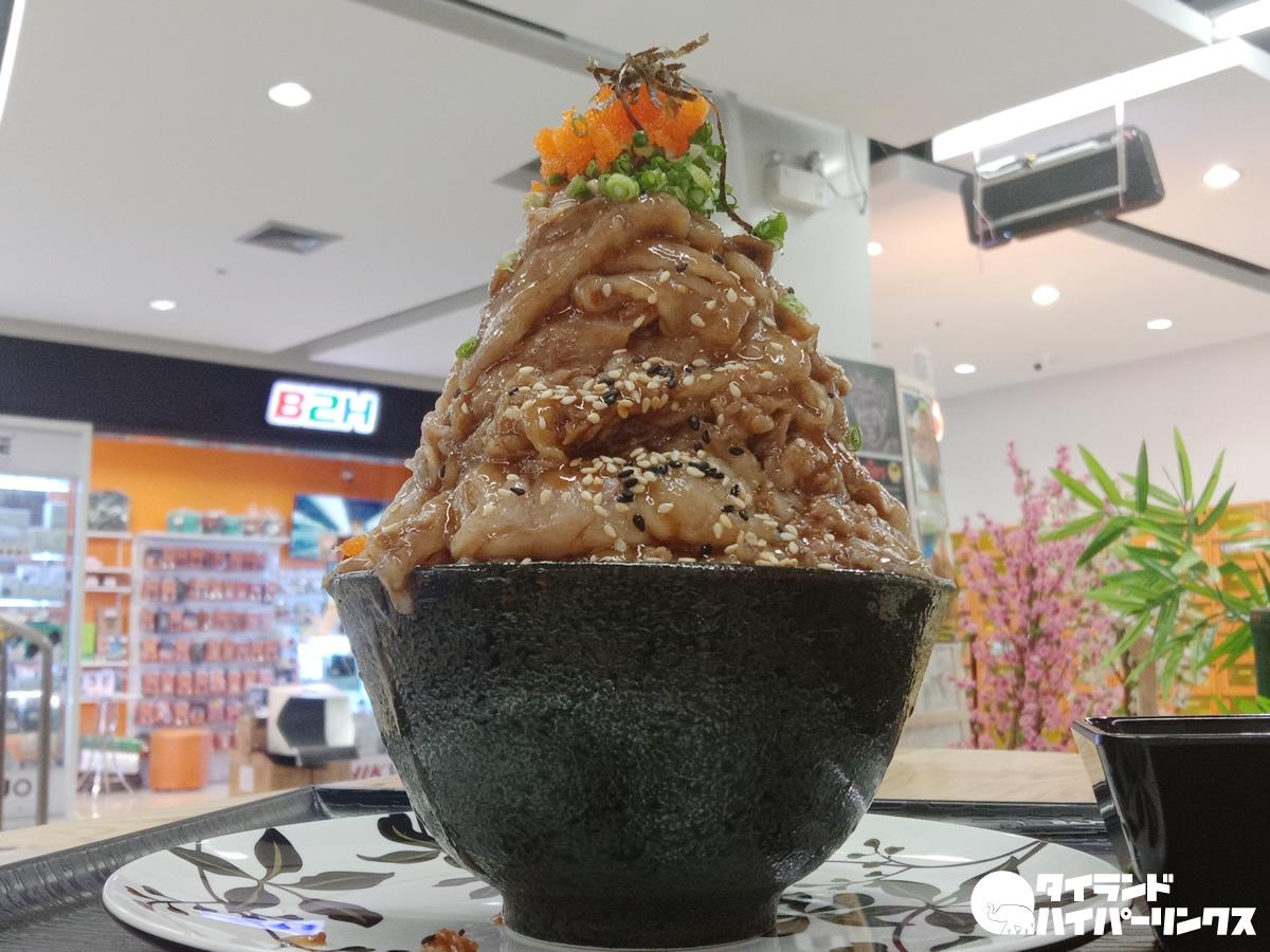 溶岩山牛丼(ข้าวหน้าเนื้อภูเขาลาวา、カオナーヌア・プーカオラーワー)