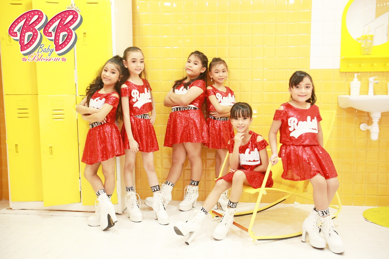 子供6人のアイドルグループ「Baby Blossom」デビュー!