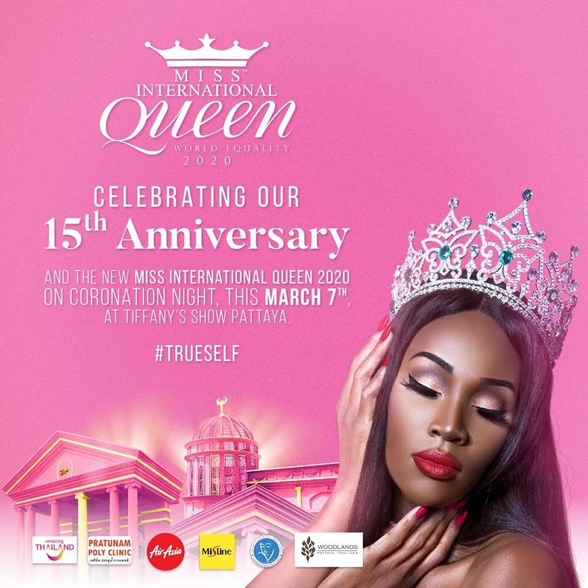 15周年のニューハーフ世界一コンテスト「Miss International Queen 2020」がパタヤビーチで開催