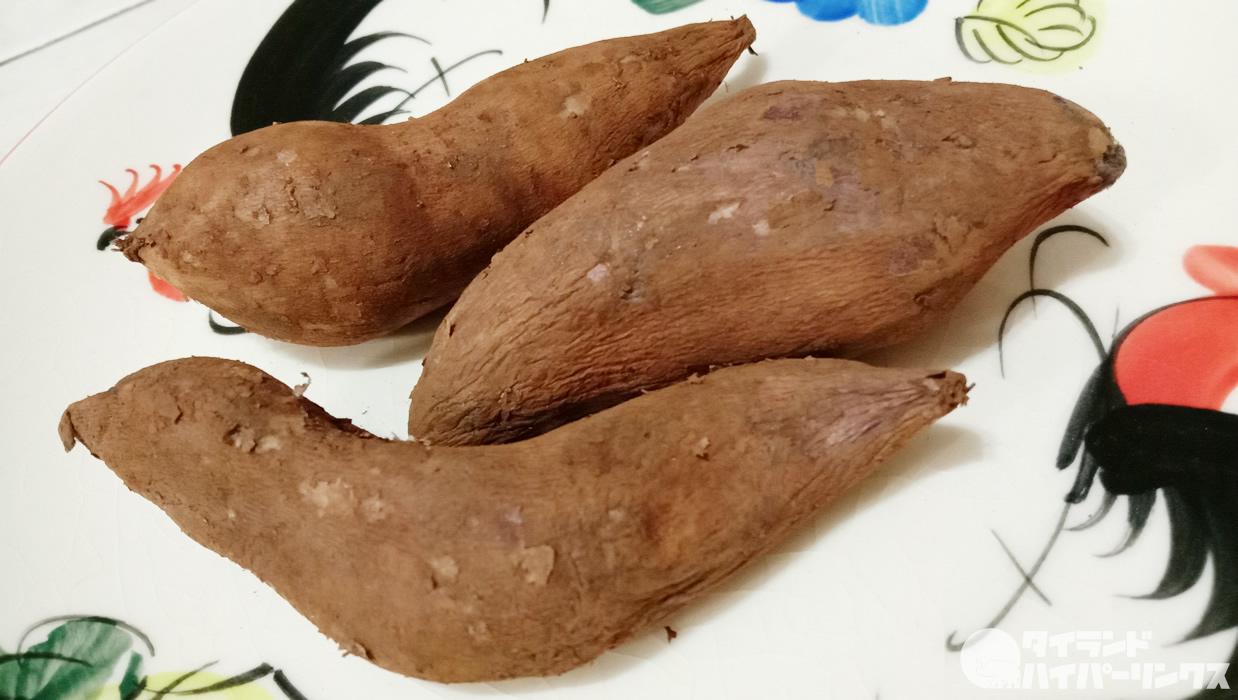 ブアヒマ:見た目さつま芋、味は梨?漢字で書くと雪蓮果