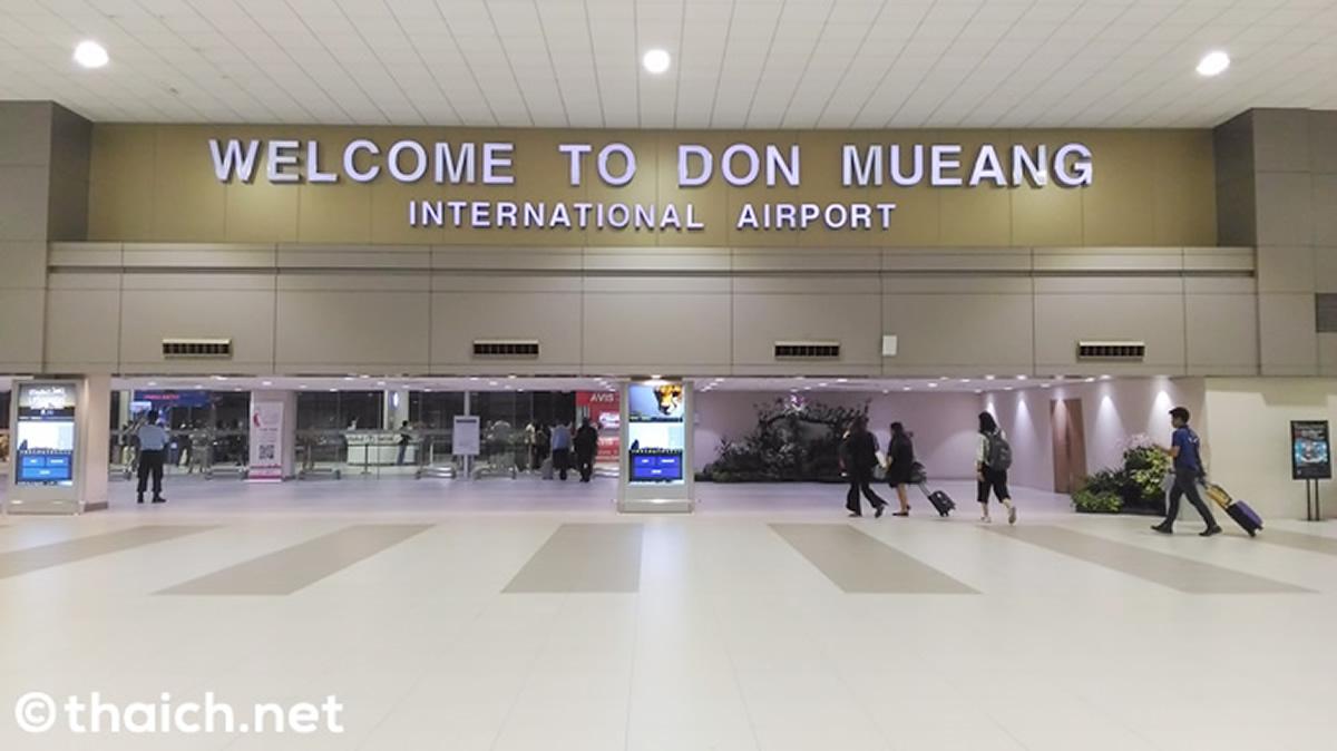 武漢からの約7000人がドンムアン空港経由でタイへ入国