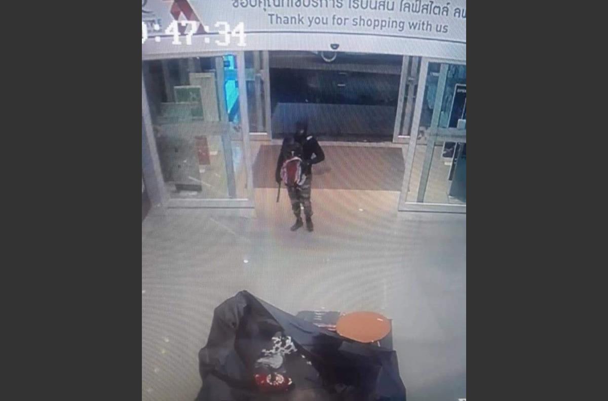 タイ中部のデパートを襲った強盗が逃走中~銃撃で3人死亡、6人が重傷